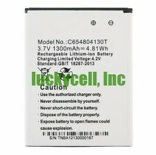 New Replacement Battery For BLU DASH 3.5 D170 C654804130T 1300mah