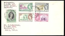 CAYMAN ISLANDS 1950's QE 11 COVER TO USA (U)