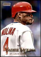 Yadier Molina 2019 Topps Stadium Club 5x7 Gold #227 /10 Cardinals