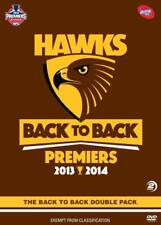 AFL Hawthorn - Back to Back 2013 - 2014 ( 2 Disc DVD Boxt Set ) BRAND NEW