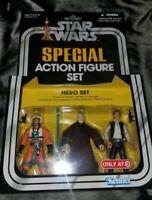Star Wars Special Action Figure Set By Kenner Hero Set Luke, Ben, Han