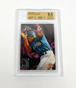 1994 Flair Alex Rodriguez #B8 Rookie Wave of the Future Mariners BGS 9.5