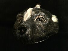 Slavic Treasures Skunk Woodland Mouth-blown Handpainted Glass Ornament Poland