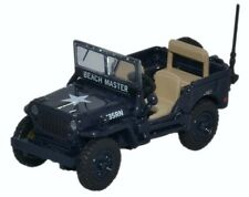 Oxford Military British Willy's 4 x 4 Jeep Royal Navy -  1/76 scale.