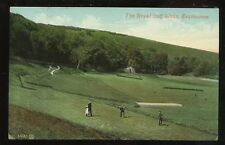 Sport GOLF Royal Golf Links Eastbourne 1910 PPC
