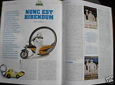 BIBENDUM MICHELIN OBJETS DE COLLECTION ARTICLE ITALIEN