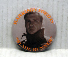 BLADE RUNNER Movie Promo Button- HARRISON FORD