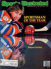 Wayne Gretzky Oilers SIGNED Sports Illustrated COA!