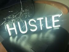 Hustle Led Neon Sign Novelty Light Wall Art Decorative Wall Hanging Sign for .