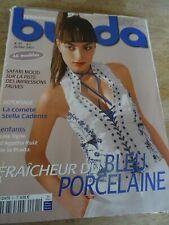 "MAGAZINE BURDA FRAICHEUR DU BLEU PORCELAINE JUILLET 2007 "" N°91"