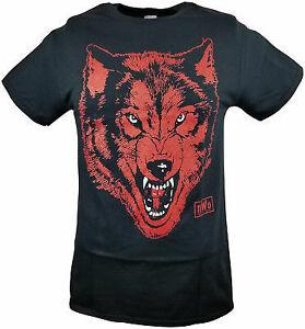 nWo Black Wolfpack New World Order Wolf pack Mens T-shirt