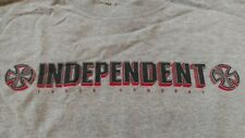 VINTAGE 90s Independent Truck Company Tee Size S Small Skateboarding
