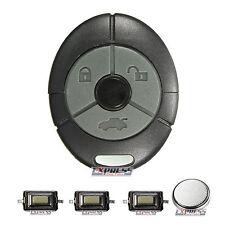 Rover MG Streetwise TF ZR ZS 25 45 3 botón remoto CLAVE FOB CASO Kit De Reparación