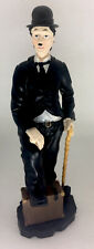 Vintage Charlie Chaplin With Walking Stick Figurine 10� Tall ~ New In Box