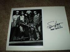 Van Halen  GROUP  Hagar VAN HALEN EDDIE Alex  Michael Signed Autographed   COA