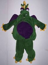 OLD NAVY GREEN & PURPLE DRAGON Costume with Wings Tail  6-12 mo 6 9 12 Halloween