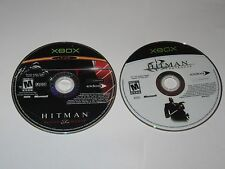 Xbox - Lot Of 2 Hitman Games - Contracts, Blood Money Disc Only - 1