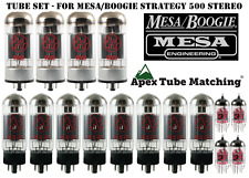 Tube Set for Mesa/Boogie Strategy 500 guitar amp JJ Electronics vacuum valves