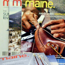 MAINE Magazine Lot 6 2017 Review Boating Handsewn Handmade DIY Business Outdoors