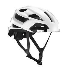 "Bern Helm FL-1 Inmold Fahrrad Sport Helm, Fahrradhelm ""M"" 55,5 -59cm Satin White"