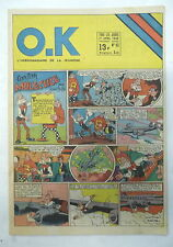 ok l'hebdomadaire de la jeunesse 93 1948 belloy uderzo