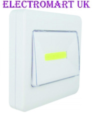LED COB STICK ON OR MAGNETIC BATTERY WALL LIGHT SWITCH NIGHTLIGHT CUPBOARD