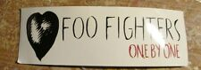 Foo Fighters Sticker Collectible Rare Vintage 2000 Metal Live Window Decal