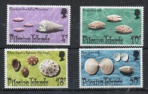 PITCAIN ISLAND STAMPS  1974 SHELLS  SG 147/50  MOUNTED MINT