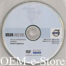 2007 2008 2009 2010 2011 Volvo XC90 GPS HDD Navigation DVD U.S Canada Mexico Map