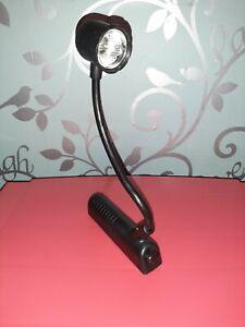 Black Modern Adjustable Desk Light Reading Task Table Lamp Bulb Office Lighting
