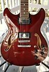 Ibanez Artcore AS-73 Semi-hollow guitar 335 style red W/ Case and strap