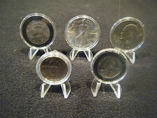 Quanty = 1,  Plastic Easel for Coin in Air-tite Holder Capsules or Frosty Case