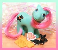 ❤️My Little Pony MLP G1 Vtg Playtime Baby Brother Boy PAWS Scottie Dog Puppy❤️