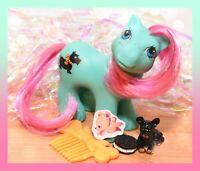 ❤️My Little Pony MLP G1 Vtg Playtime Baby Brother Boy PAWS Scottie Dog Puppy❤️