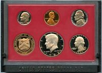 1982 United States Proof Set 5-Coin Collection US Mint OGP