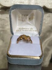 BLACK HILLS MULTI-TONE GOLD  RING BAND SIZE 8.ORIGINAL BOX