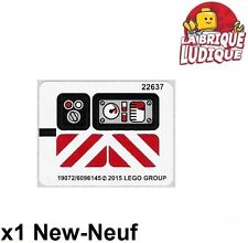 Lego - 1x Sticker Autocollant Technic 42032 Compact Tracked Loader NEUF