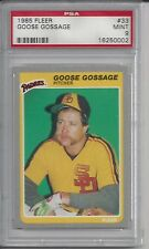 1985 Fleer Goose Gossage #33 PSA 9 MINT