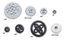LEGO 8 pc gear axle lot SET Technic Mindstorm nxt ev3 motor power functions pack