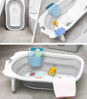 Karibu Baby Travel Bath Large Newborn Kids Deluxe Wash Bath Tub - Grey