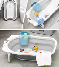 Karibu Baby Travel Bath Large Newborn Kids Deluxe Wash Bath Tub