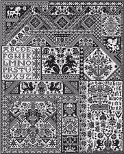 Death By Cross Stitch CHART Pack -363x447 Stitches-Long Dog Samplers