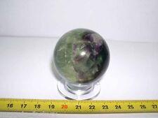 sphere de fluorite naturelle  (Chine- 150 grammes -  020 )