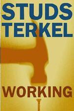 Working von Studs Terkel (1972, Taschenbuch)