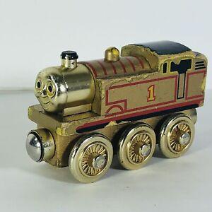 Thomas the Train 60 Year Anniversary Tank Engine Wooden Railway Friends Gold