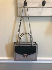 NWT Kate Spade Small Zarinah Hyde Place Mousfro/Black Leather Purse ($429)
