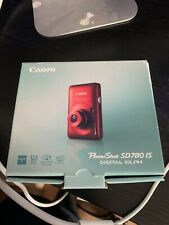 Canon PowerShot Digital ELPH SD780 IS / Digital IXUS 100 IS 12.1MP Digital...