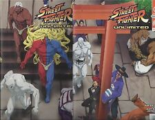 STREET FIGHTER UNLIMITED # 9 10 CONNECTING COVER B UDON CAPCOM!