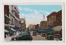Reno,Nevada,Virginia Street Looking South,Washoe County,c.1918-30s
