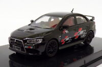 Tarmac 1/64 scale T64-004-REB - Mitsubishi Lancer Evo X - Ralliart Black